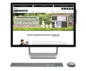 home inspector website template
