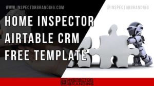 home inspector template
